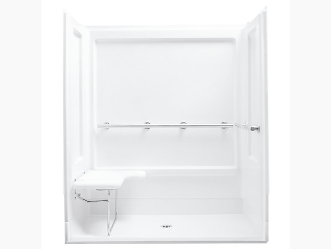 Series 6207 63 1 4 Quot X 39 3 8 Quot X 73 1 4 Quot Seated Shower