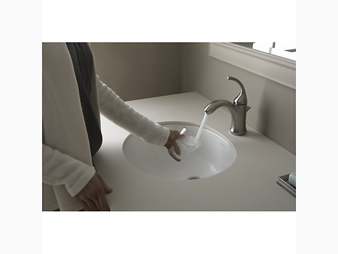 Wescott 17 X 15 Undermount Bathroom Sink 442050 Wescott Undermount Bathroom Sink 442050 Sterling