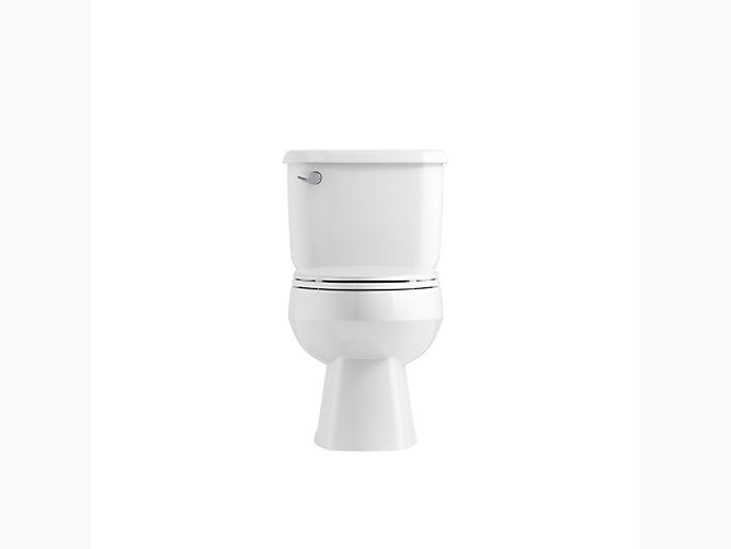 Windham Elongated Toilet With Pro Force Technology and Left-Hand ...