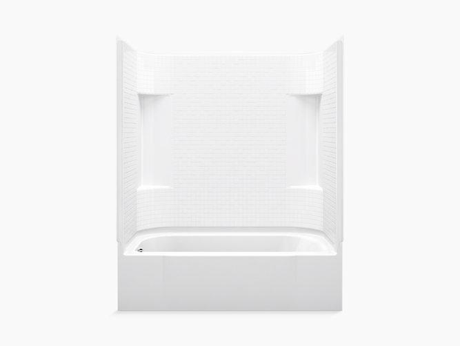 Accord 174 60 X 30 Bath Shower With Left Hand Drain