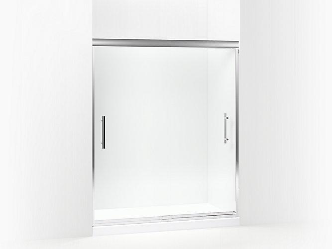 Finesse Peak Frameless Sliding Shower Door 56 5 8 59 5 8 W X