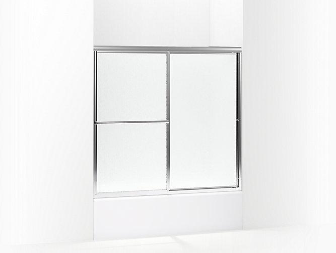 Deluxe Framed Sliding Bath Door 54-3/8\