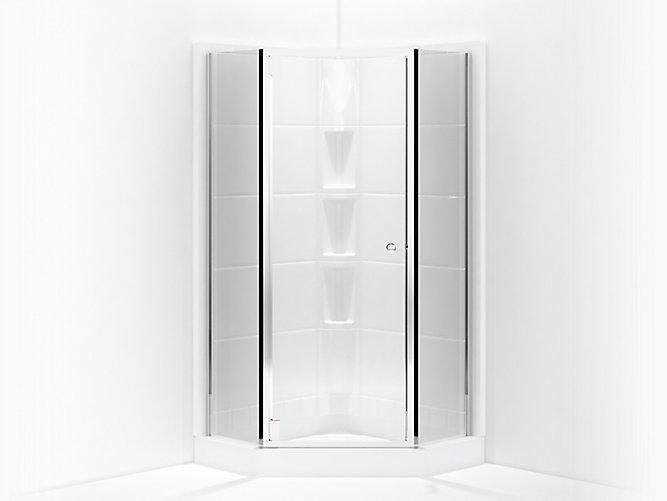 Solitaire Frameless Neo Angle Corner Shower Door 16 14 X 29 716