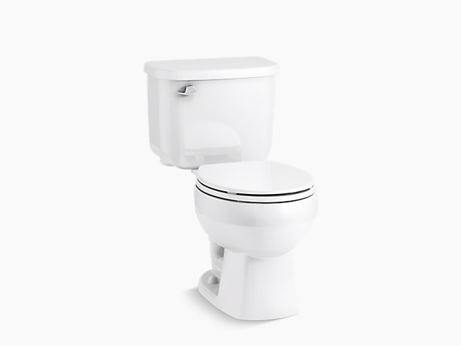 Windham Round Front Toilet Bowl 402078 Sterling
