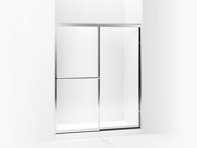 Prevail 174 Prevail Framed Sliding Shower Door 54 3 8 Quot 59 3 8