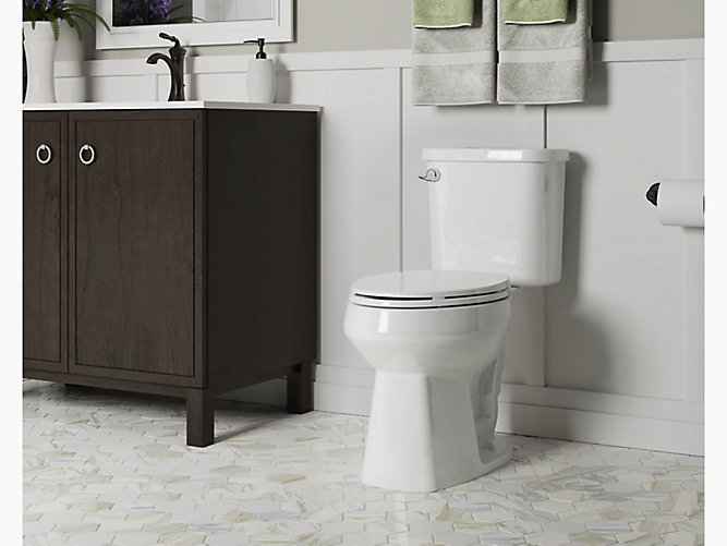 Windham Comfort Height 174 Elongated Toilet With Pro Force