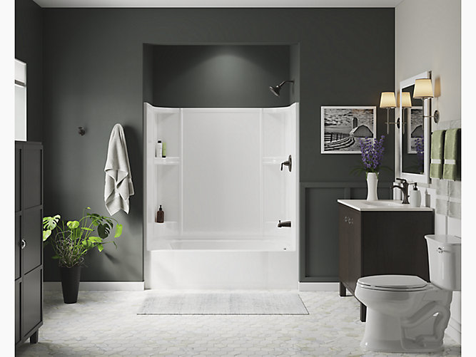 Accord 174 60 X 30 Bath Shower With Right Hand Drain