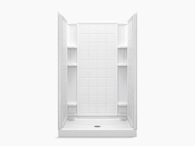 ensemble series 7212 48 x 34 x 75 3 4 shower stall. Black Bedroom Furniture Sets. Home Design Ideas