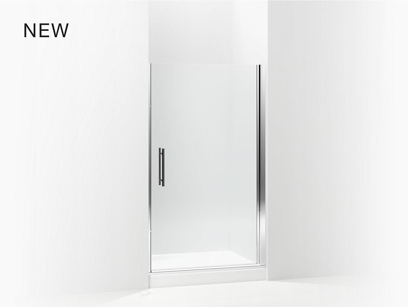 Finesse Peak Swinging Shower Door Height 67 Max Opening 42