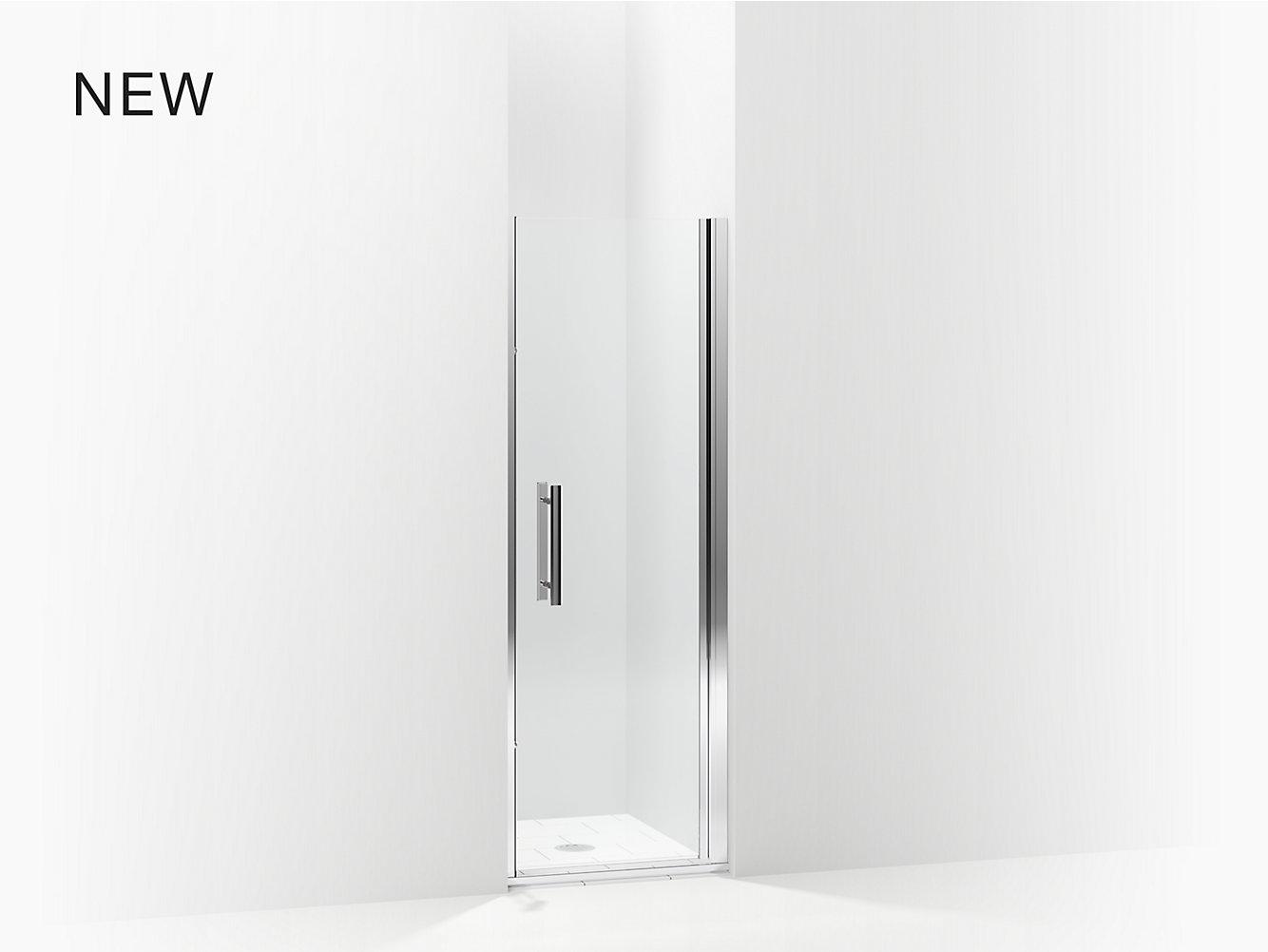 Finesse Peakr Swinging Shower Door Height 67 Max Opening 27