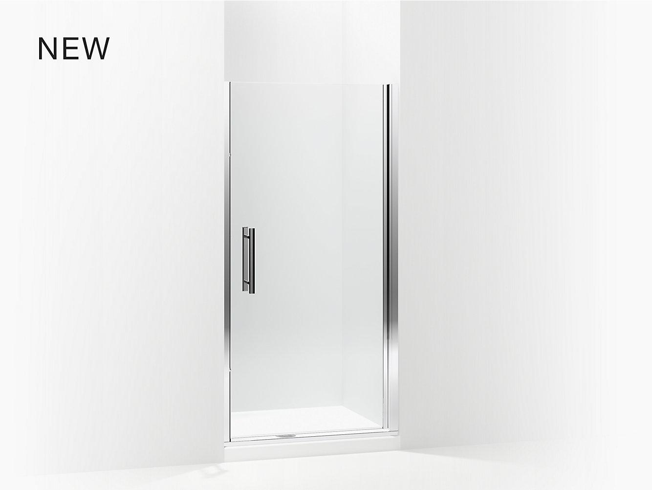 Finesse Peakr Swinging Shower Door Height 67 Max Opening 36