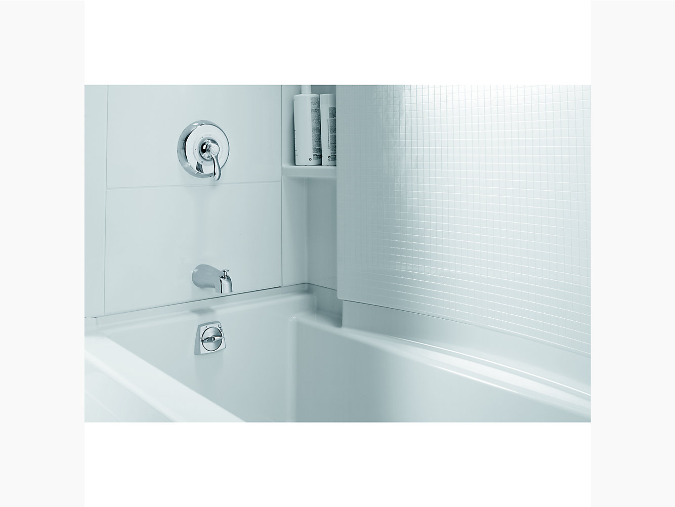 "Accord Series 7116, 60"" x 36"" Bath/Shower With Aging in Place ..."