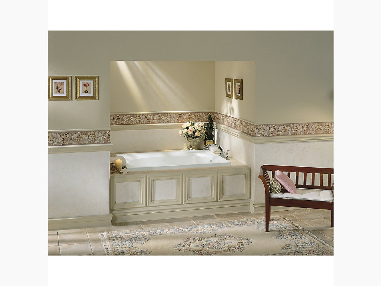 """Tranquility Series 6105, 60"""" x 42"""" Bath — 20 -Pack 