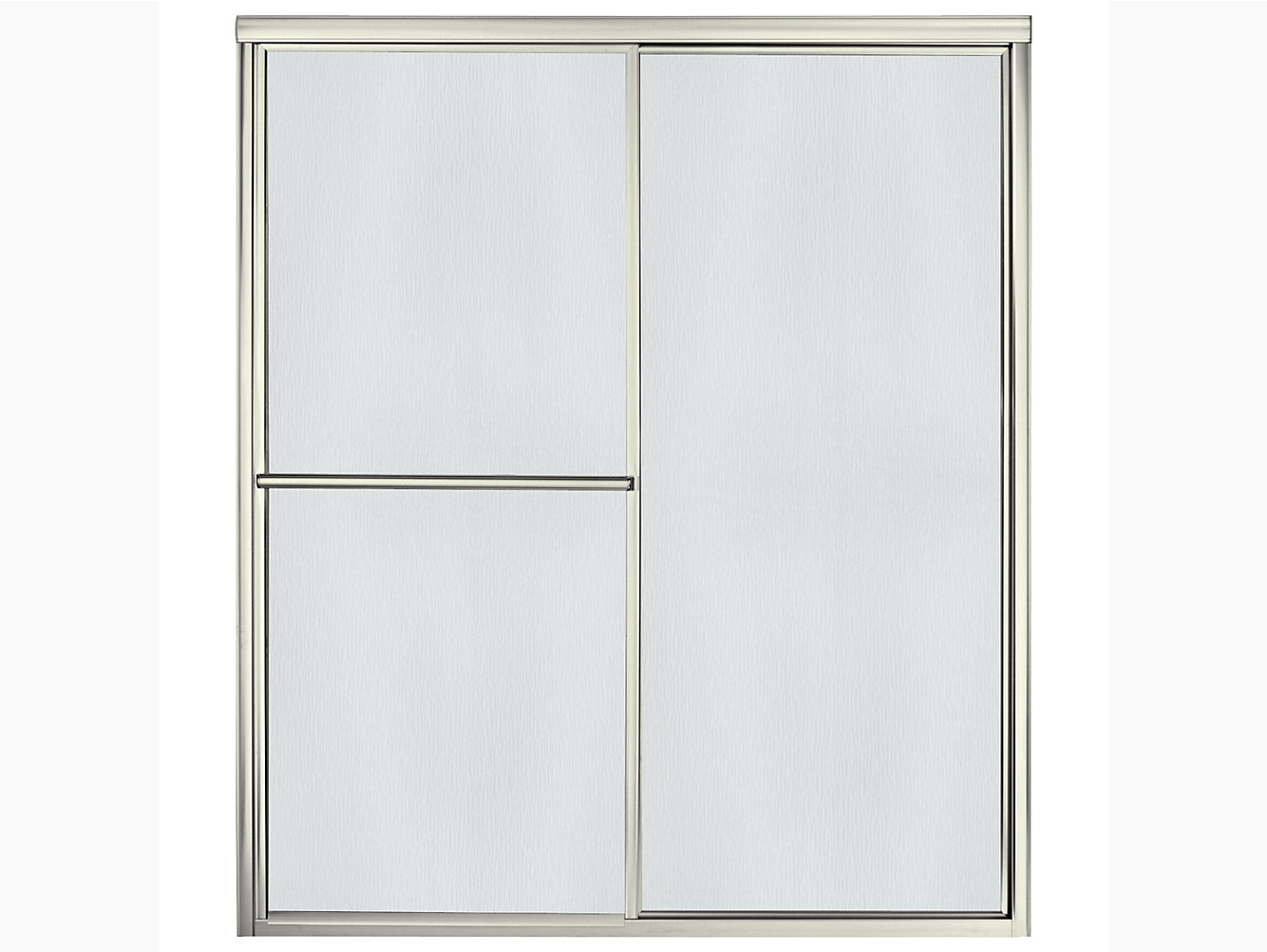Deluxe Framed Sliding Shower Door 54-3/8\