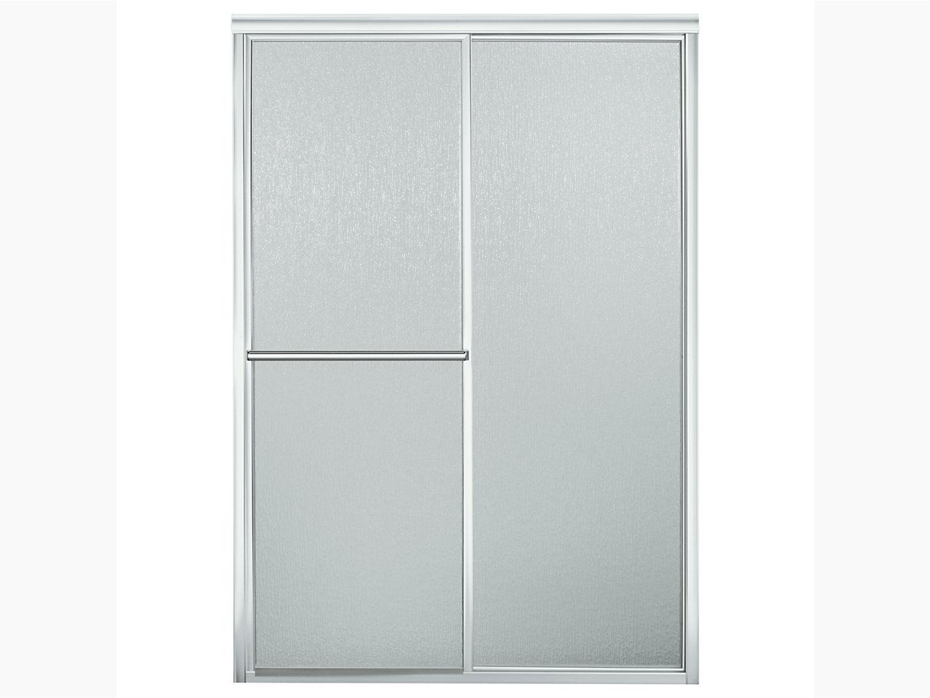 Deluxe Framed Sliding Shower Door 43-7/8\