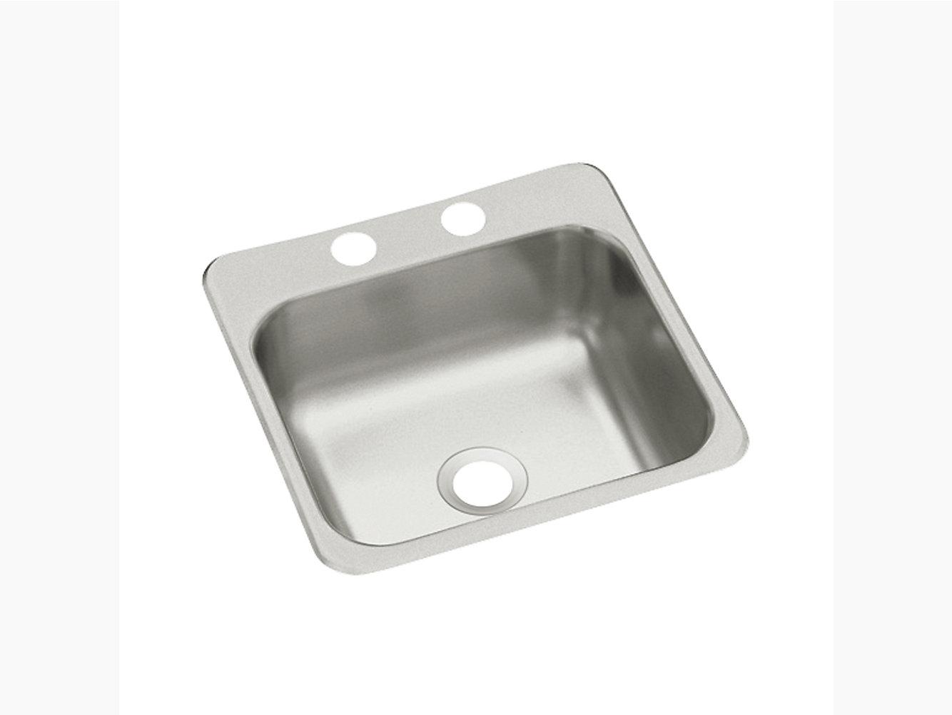 Top-Mount Bar/Kitchen Sink, 15\