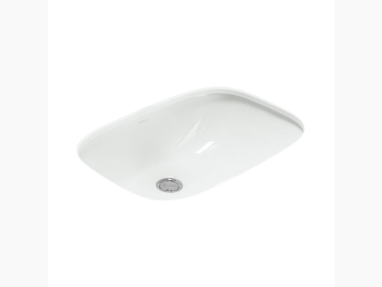 Stinson Undermount Bathroom Sink 442007 U Sterling