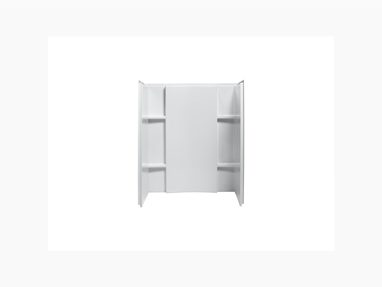 Accord 48 X 36 Shower Wall Set With Aging In Place Backerboards 72284106 Sterling