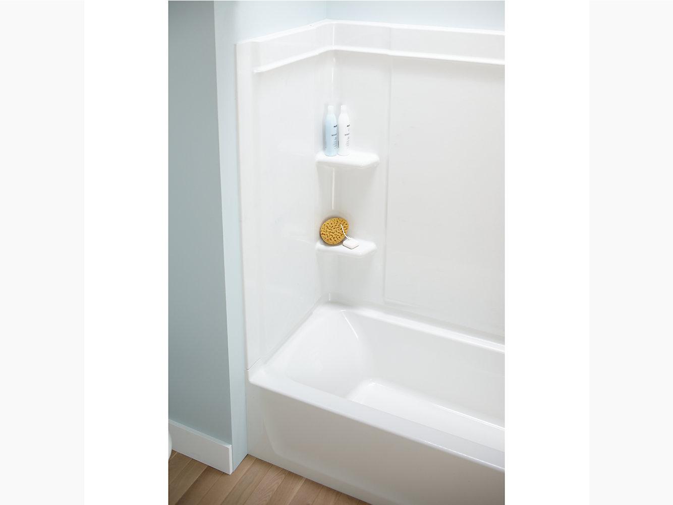"Ensemble Medley Series 7137, 60"" x 30-1/8"" Bath/Shower | 71370110 ..."