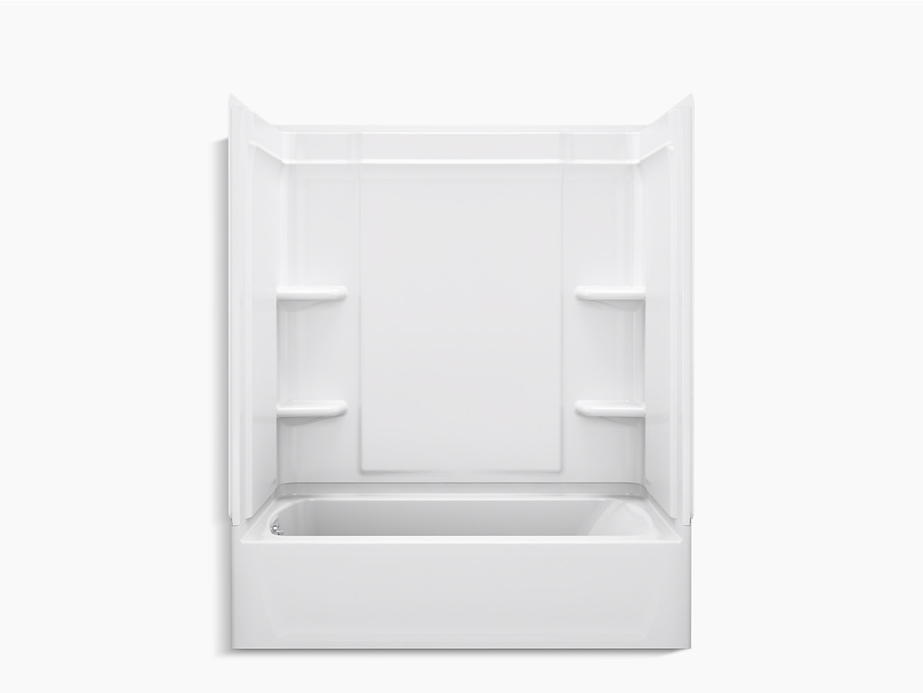 "Ensemble Medley Series 7137, 60"" x 30-¼"" Bath/Shower With Above ..."