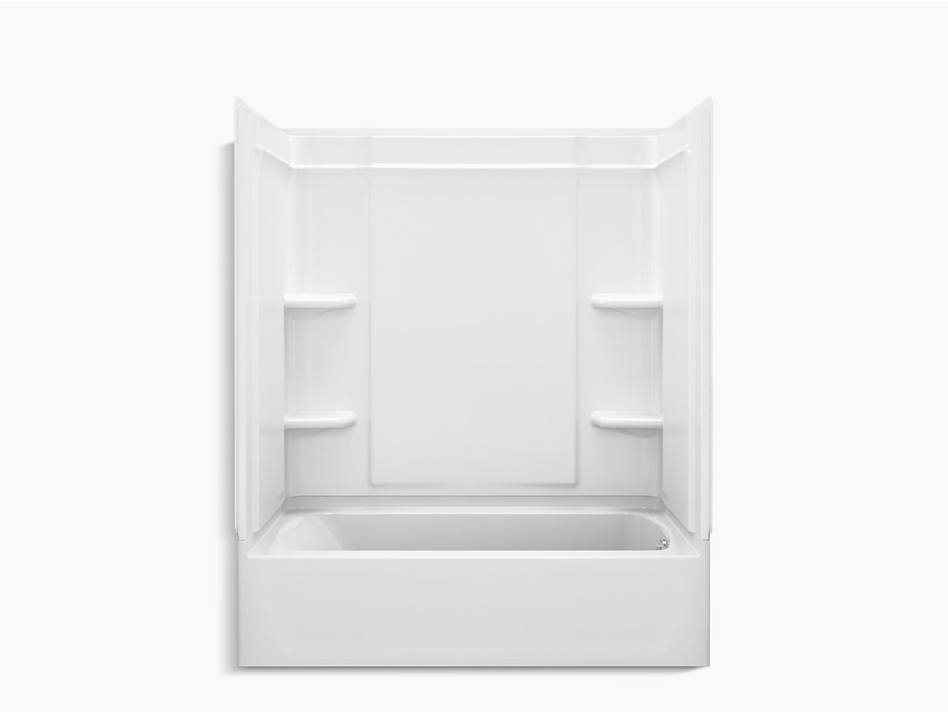 "Ensemble Medley Series 7132, 60"" x 32"" Bath/Shower With Aging in ..."