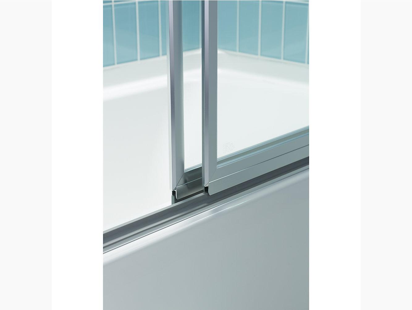 Prevail Framed Sliding Shower Door 43-7/8\