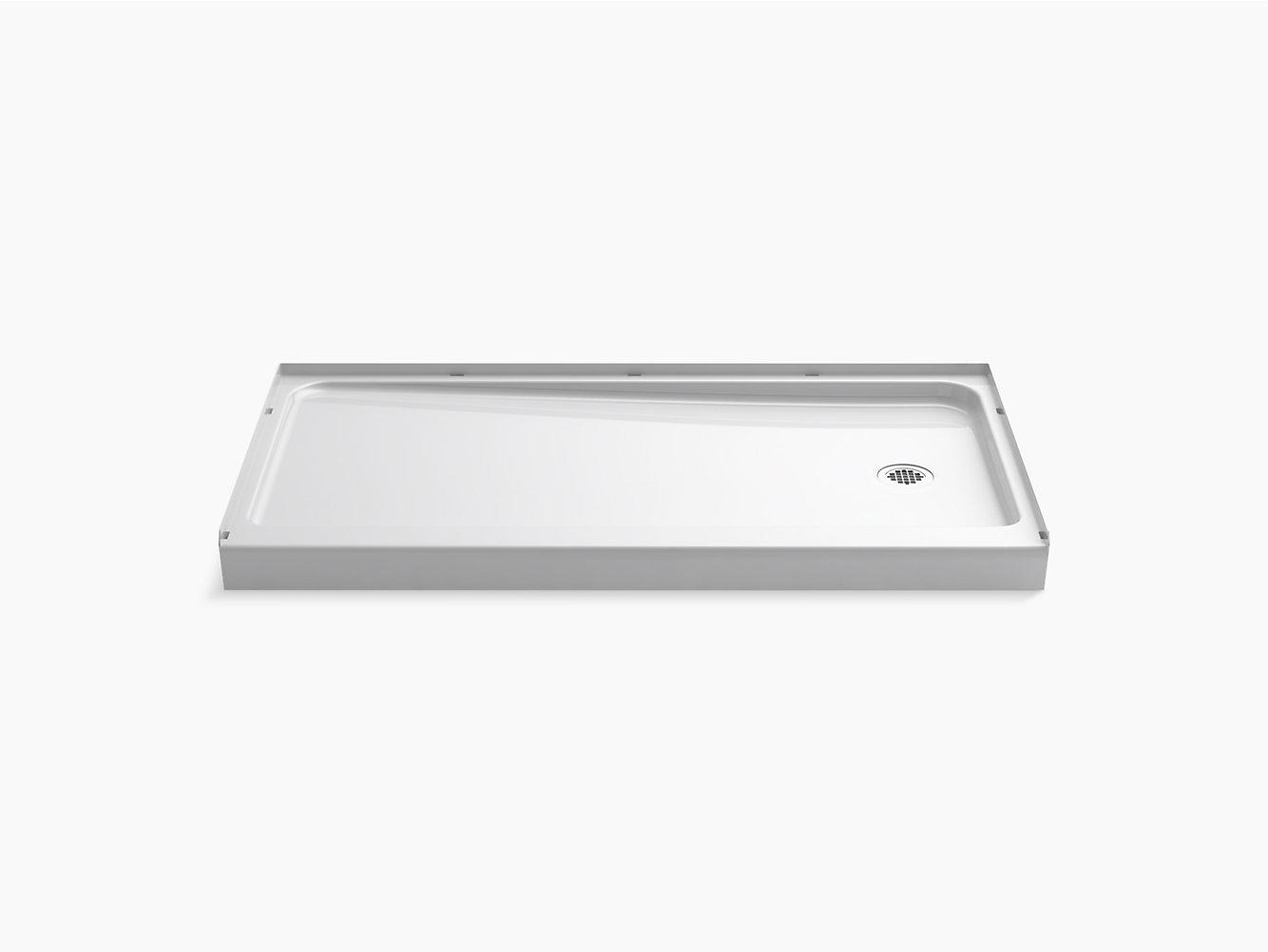 base rectangle bathroom enclosures plus low kohler tray shower x level rgb trays