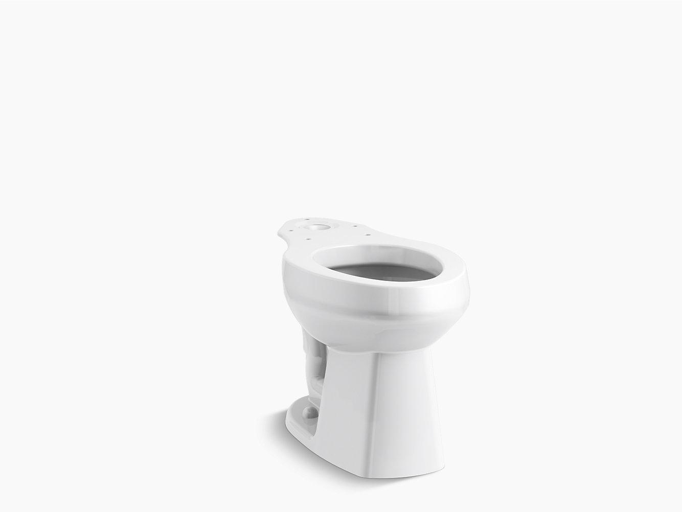 Windham/Riverton Luxury Height Elongated Toilet Bowl | 403315 | STERLING