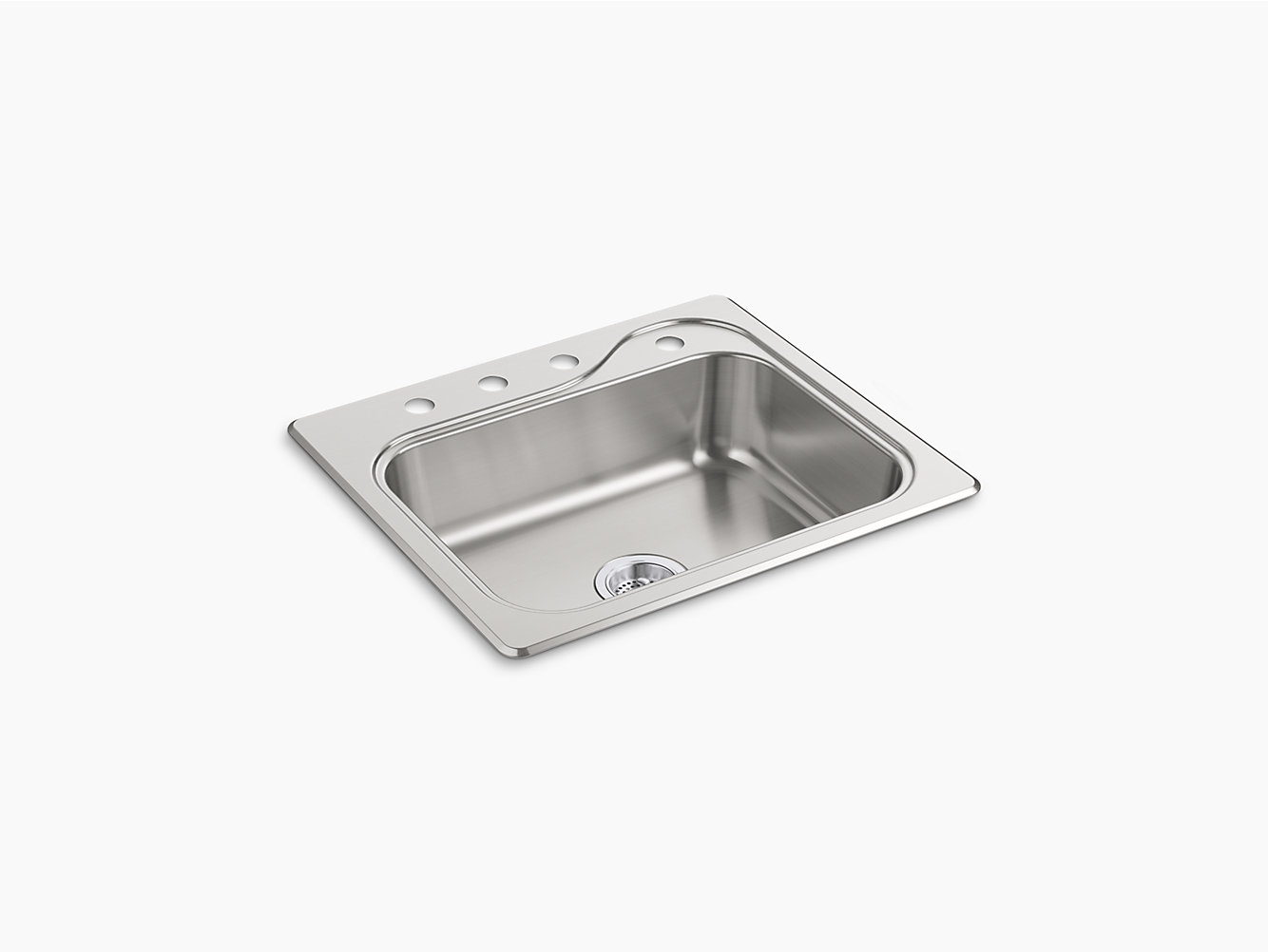 Kitchen Sink 25 X 22 Southhaven top mount single bowl kitchen sink 25 x 22 x 7 southhaven top mount single bowl kitchen sink 25 x 22 x 7 11404 4 na sterling workwithnaturefo