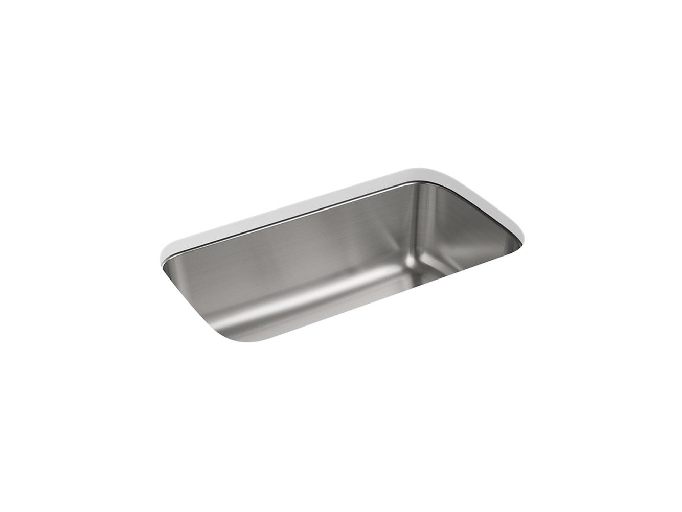 Carthage Under-Mount Single-Bowl Kitchen Sink, 31-7/8\