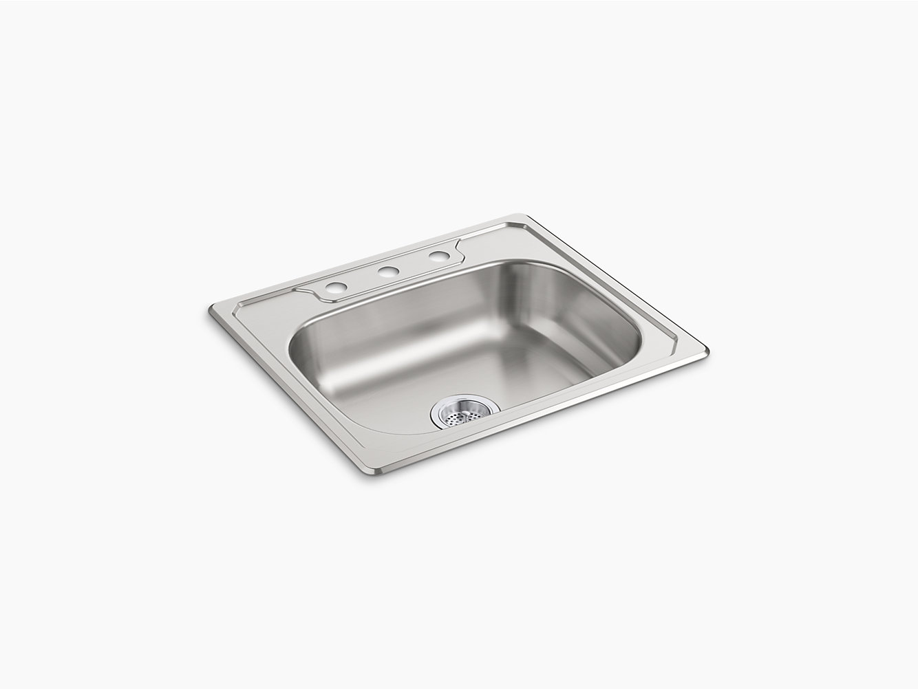 Middleton top mount single bowl kitchen sink 25 x 22 x 6 14631 middleton top mount single bowl kitchen sink 25 x 22 x 6 14631 3 na sterling workwithnaturefo