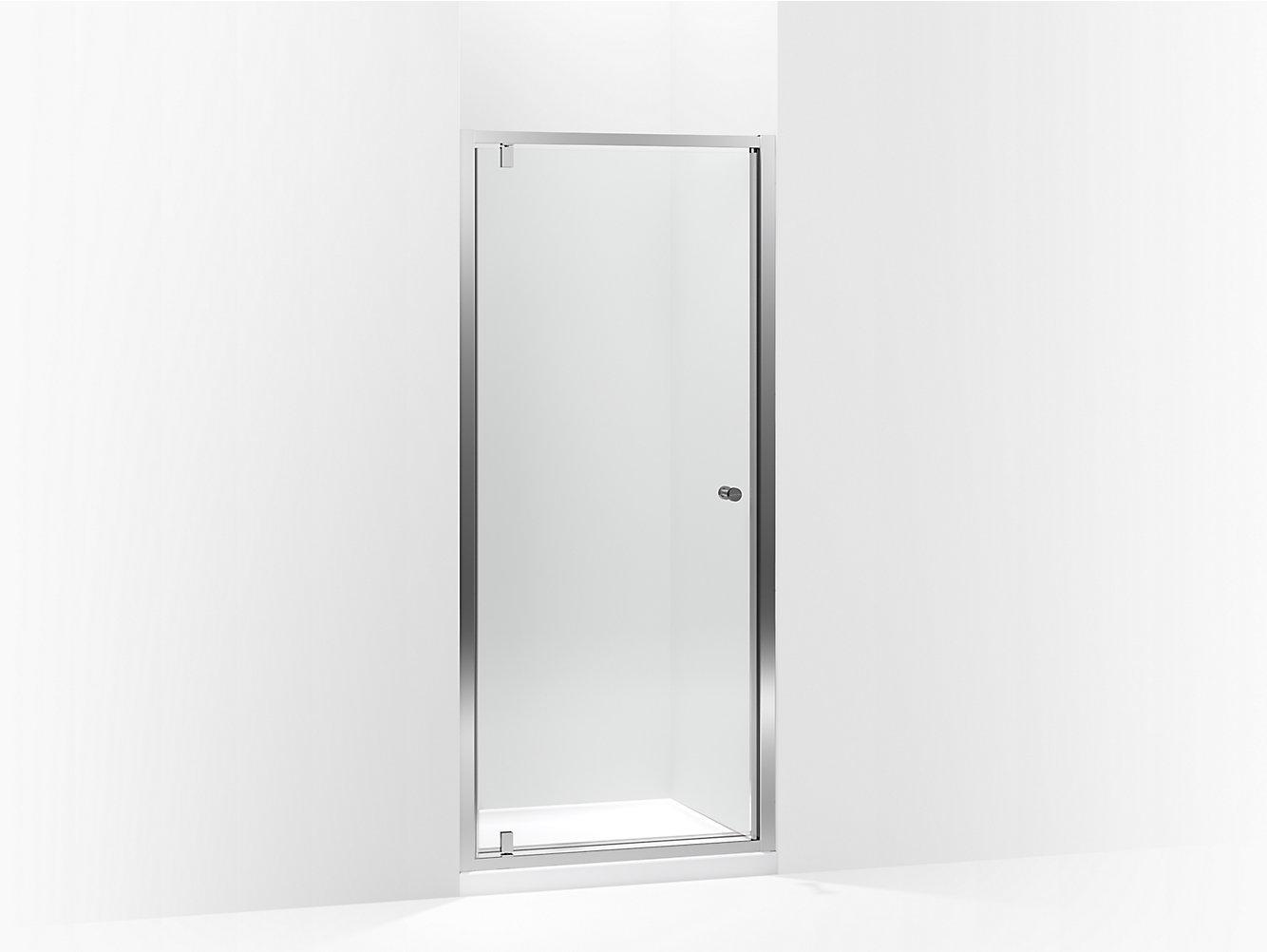 Whiston pivot shower door 30\