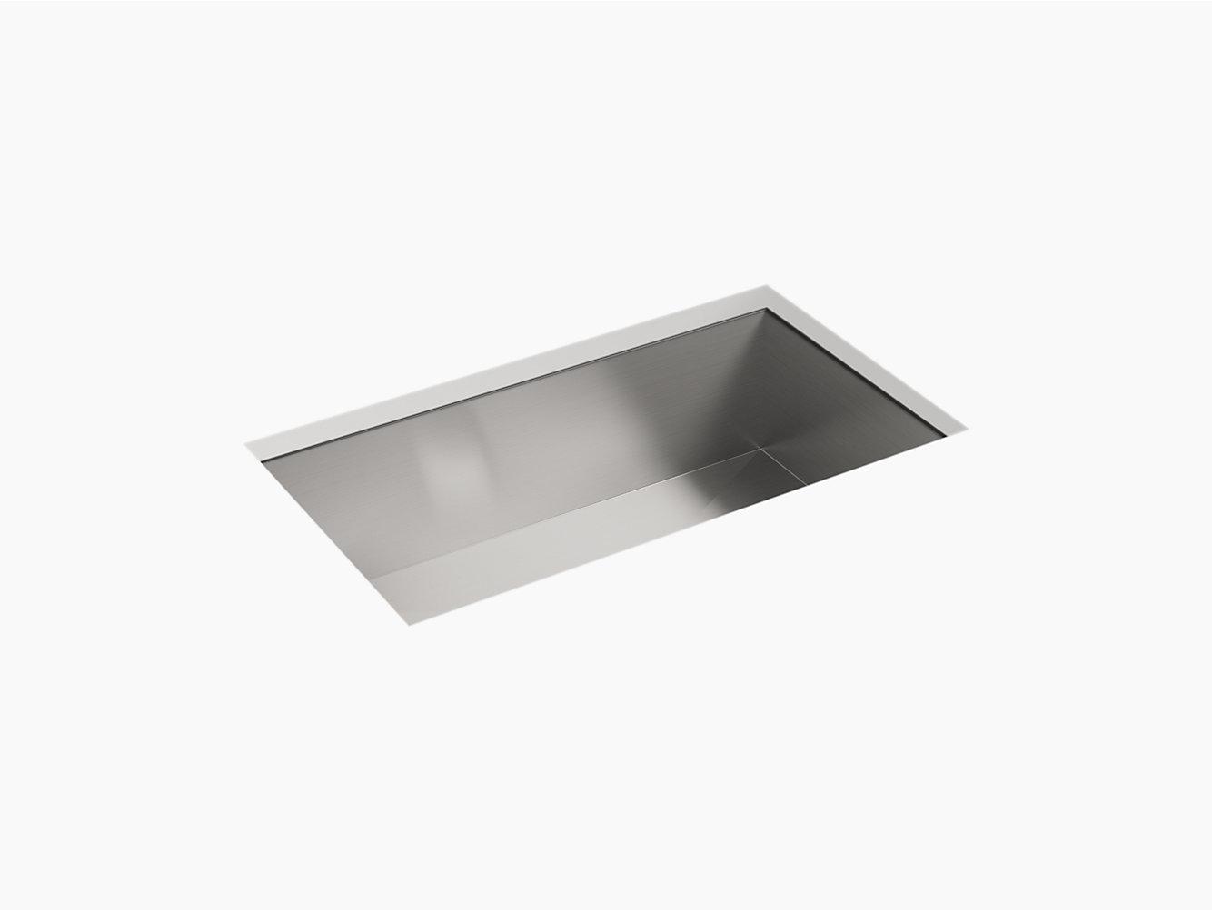 Ludington Under-Mount Single-Bowl Kitchen Sink, 32\