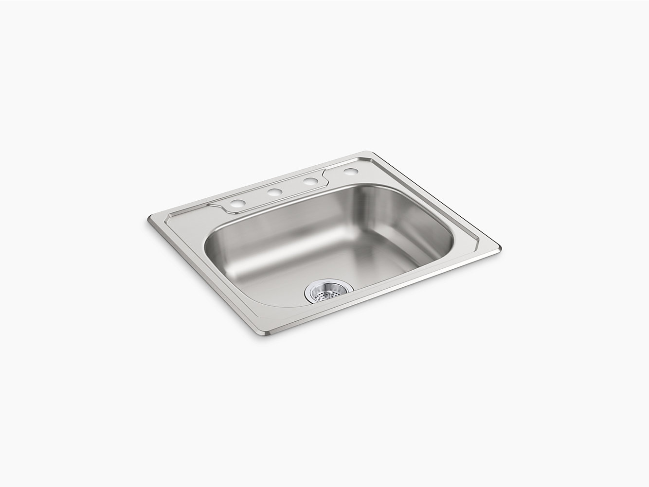 Middleton® Top-Mount Single-Bowl Kitchen Sink, 25