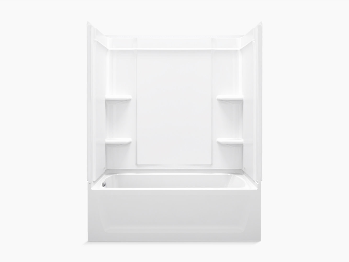 "Ensemble Medley Series 7632, 60"" x 32"" Whirlpool/Shower 