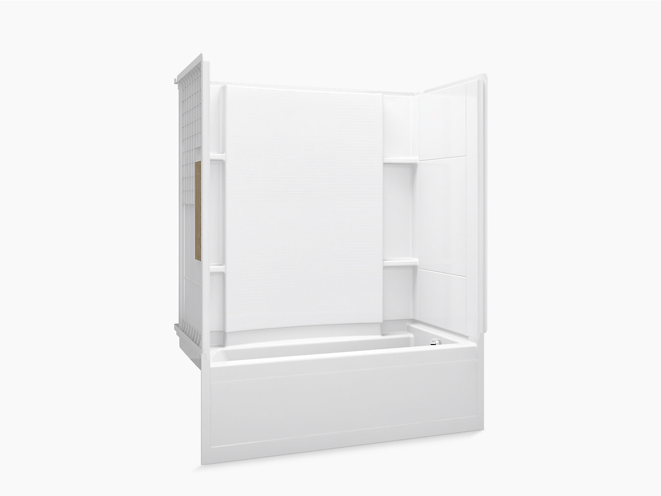 """Accord Series 7115, 60"""" x 32"""" Bath/Shower With Aging in Place ..."""