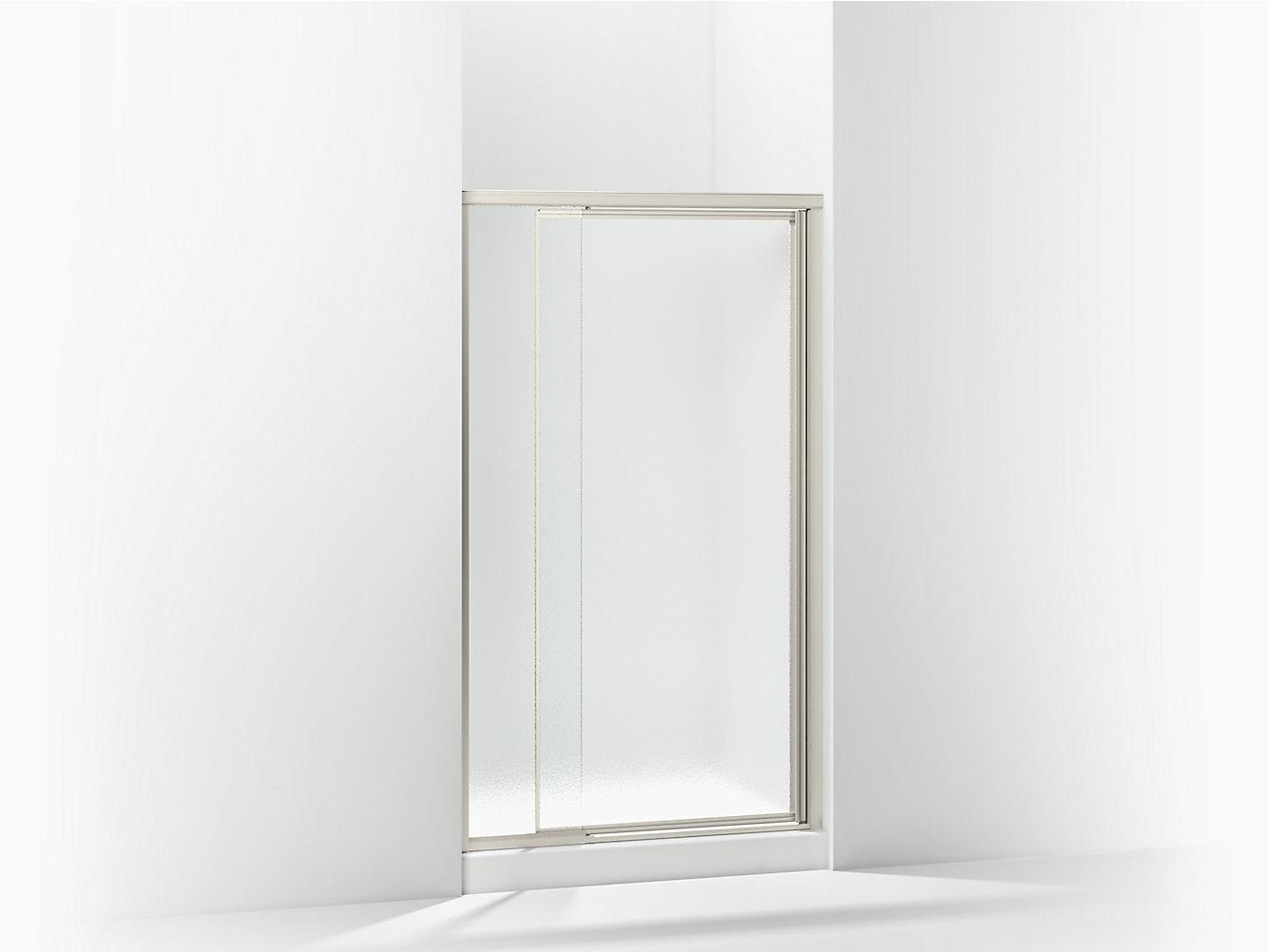 Vista Pivot Framed Swinging Shower Door 36\