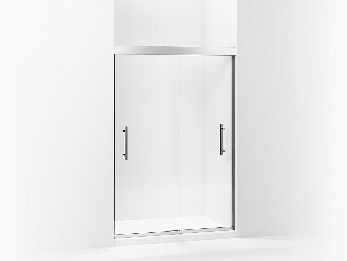 Finesse Peak Frameless Sliding Shower Door 44 5847 58 W X 70 1