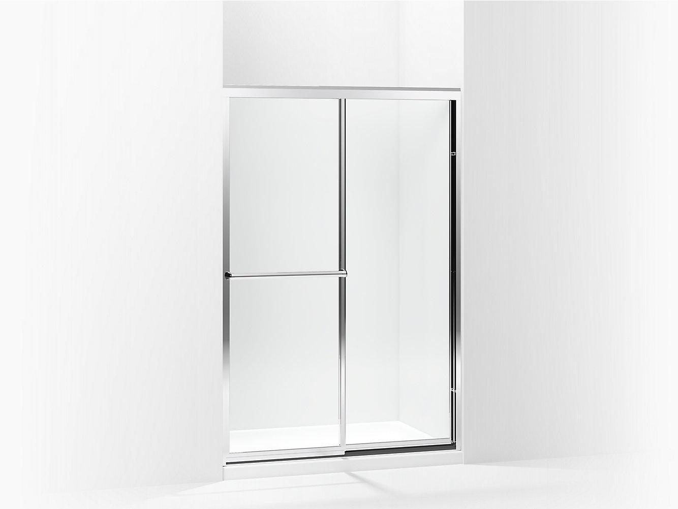 Prevail Framed Sliding Shower Door 43-7/8