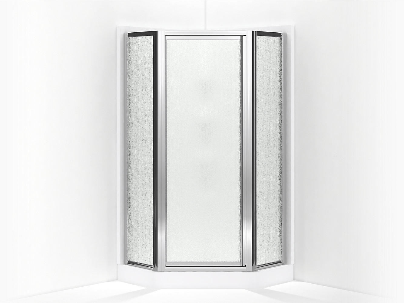 Intrigue Framed Neo Angle Corner Shower Door 15 1316 X 27 916 X