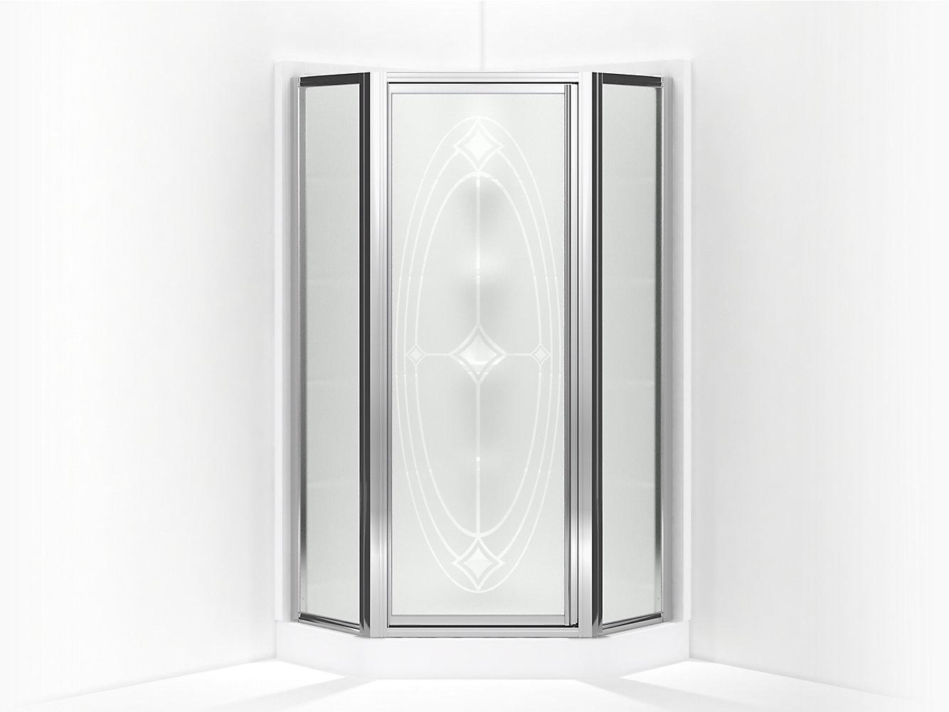 Intrigue Framed Neo-Angle Corner Shower Door 15-13/16\