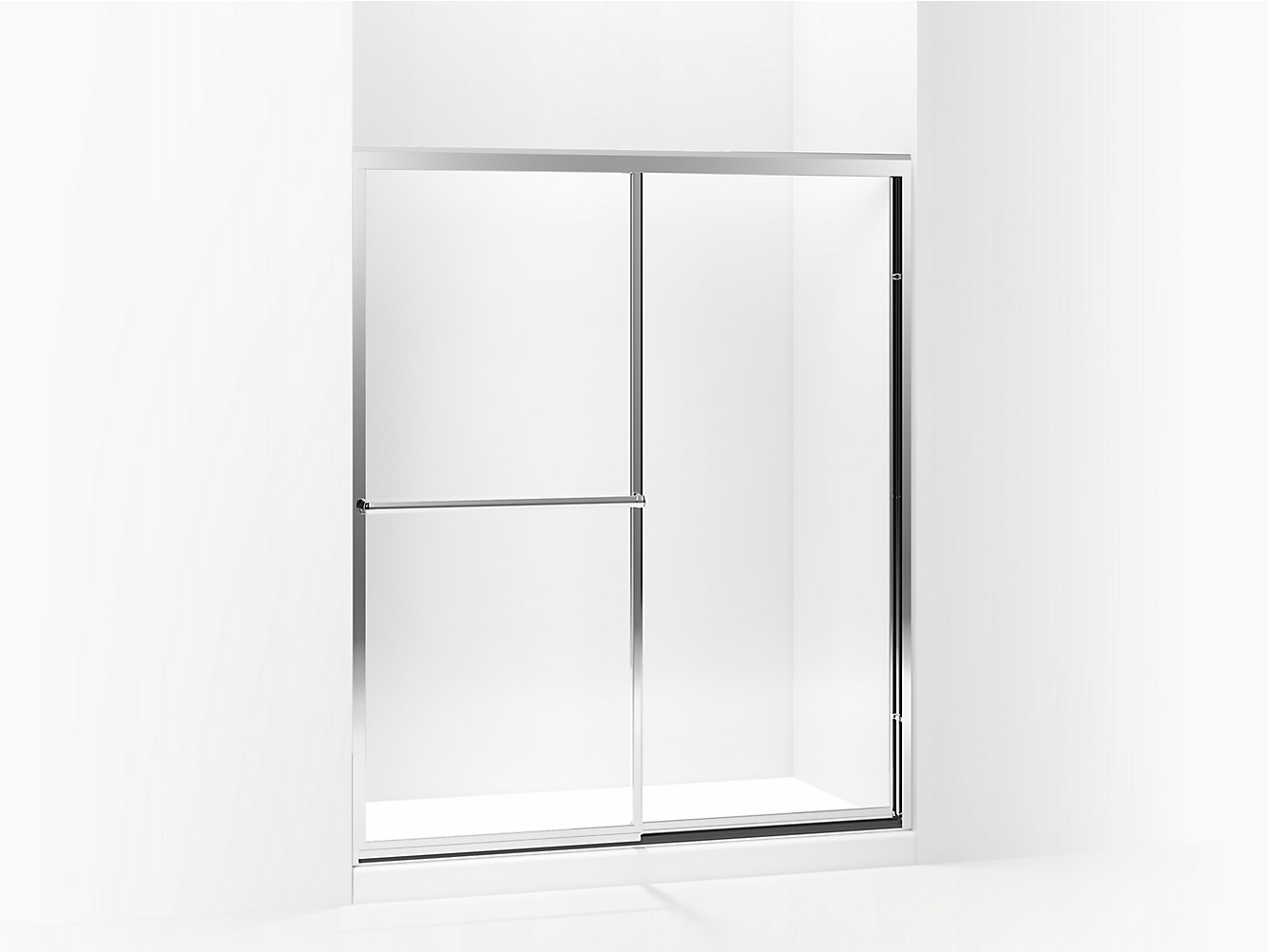 Prevail Framed Sliding Shower Door 54-3/8\
