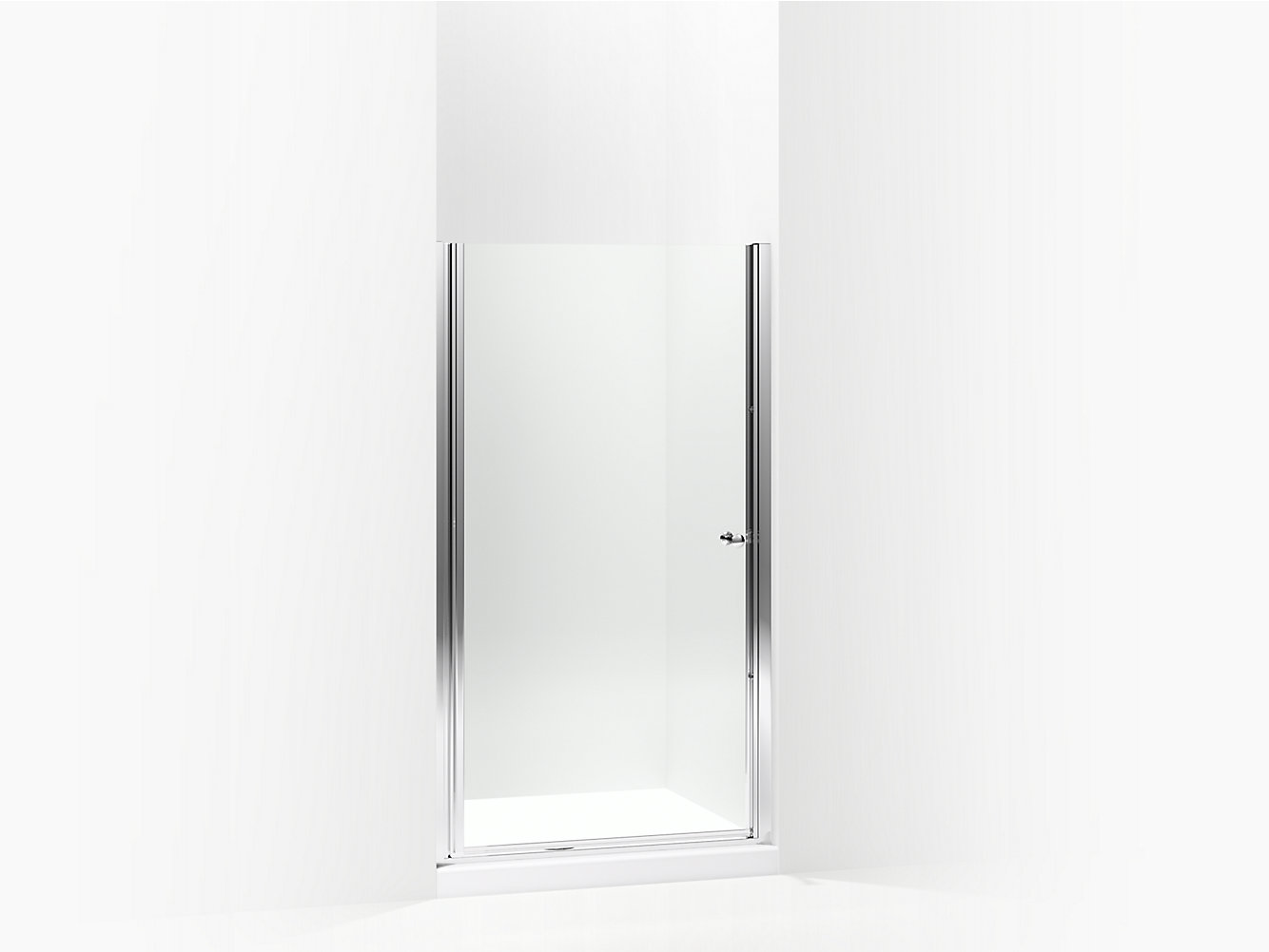 Finesse Frameless Swinging Shower Door 35\