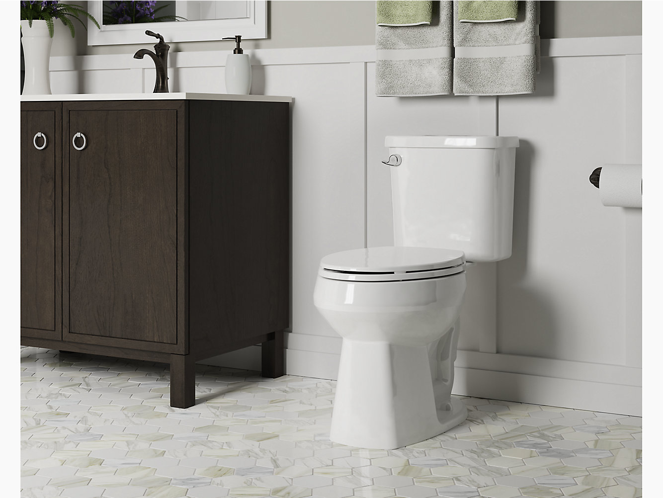 Windham Comfort Height Toilet With Pro Force Technology | 403082 ...