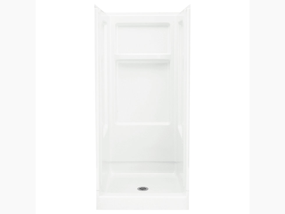 Advantage 32 Quot X 34 Quot X 72 Quot Shower Stall With Center Drain