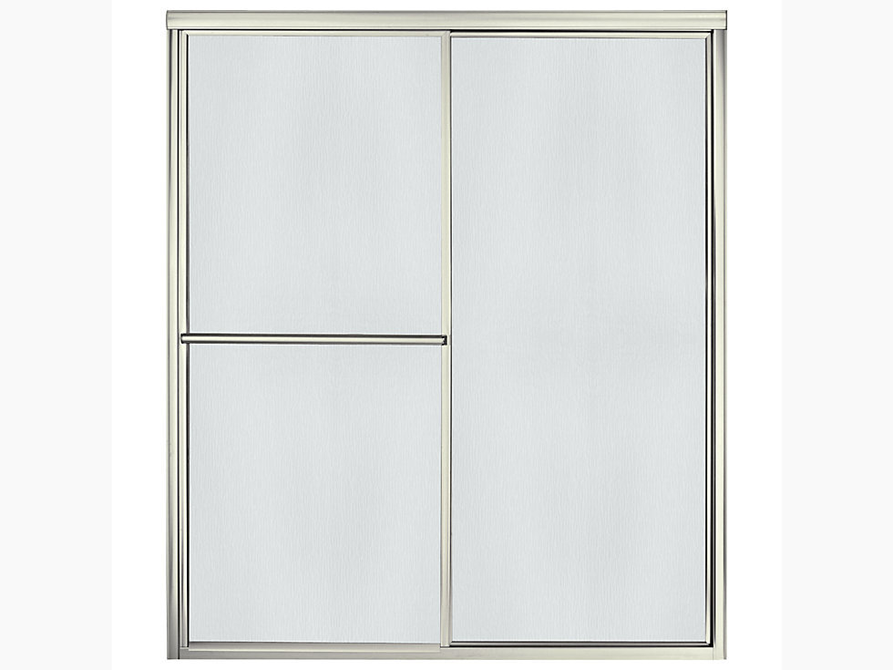 Deluxe Framed Sliding Shower Door 54 3 8 Quot 59 3 8 Quot W X 70