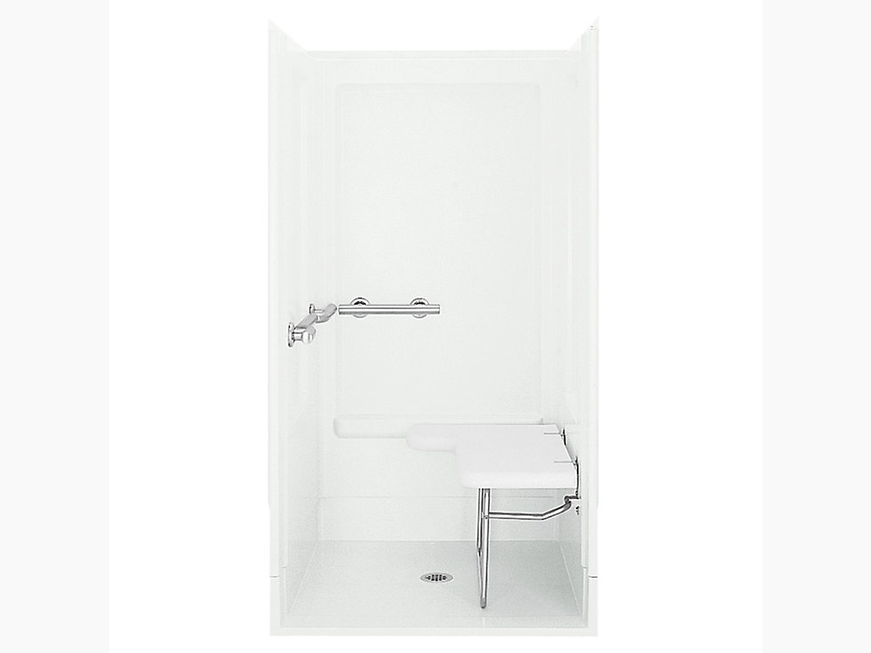 Transfer series 6205 39 3 8 x 39 3 8 x 72 shower stall for Bathroom 94 percent