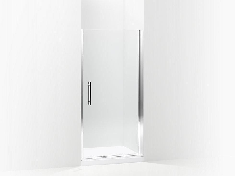 Finesse Peak 174 Headerless Frameless Pivot Shower Door 36