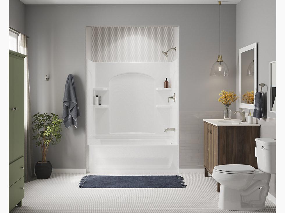 "Ensemble Series 7122, 60"" x 32"" Bath/Shower | 71220120 | STERLING"