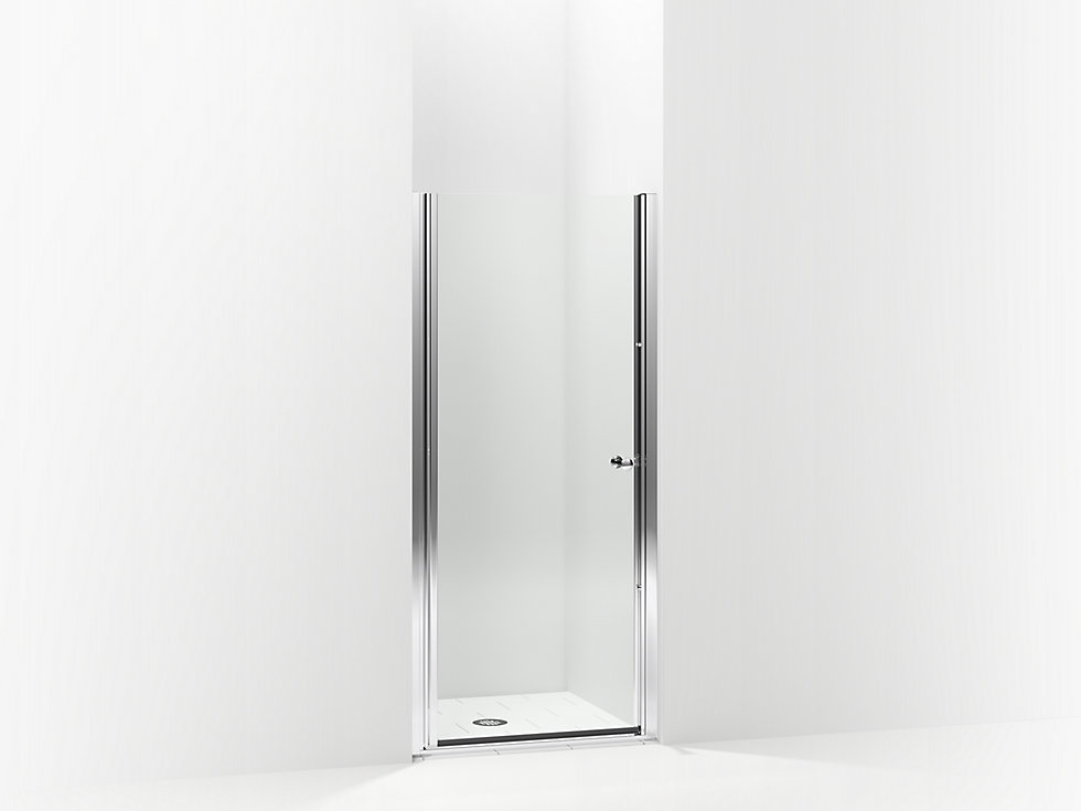 Finesse Frameless Pivot Shower Door 30 Quot 31 1 2 Quot W X 65 1